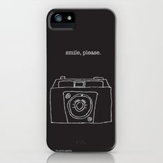 Vintage camera negative Slim Case iPhone (5, 5s)