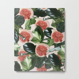 Figs & Leaves #society6 #decor #buyart Metal Print