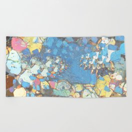 Electric Phase Beach Towel