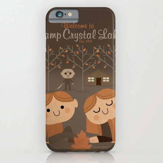 welcome to camp crystal lake iPhone & iPod Case