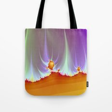 Fractal Landscape Tote Bag
