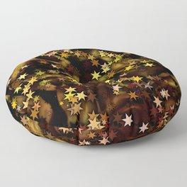 Fire Stars Floor Pillow