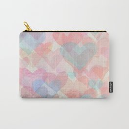 Floating Hearts Carry-All Pouch