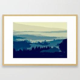 Serene and Beautiful Landscape Framed Art Print