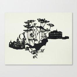 Tin Can Canvas Print