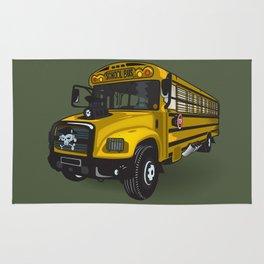 School bus Rug