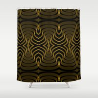 africa Shower Curtains featuring Africa by tim van campen