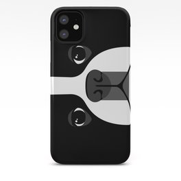 Boston Terrier Close Up iPhone Case