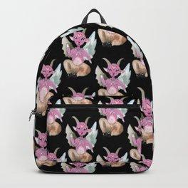 cute baphomet pattern Backpack