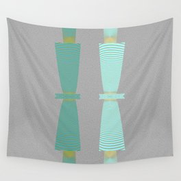Two Totems Wall Tapestry