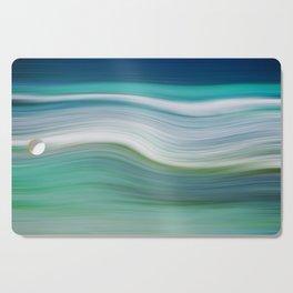 OCEAN ABSTRACT Cutting Board