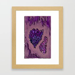 Lav heard Framed Art Print