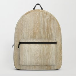 Vintage style rustic brown ivory country wood  Backpack