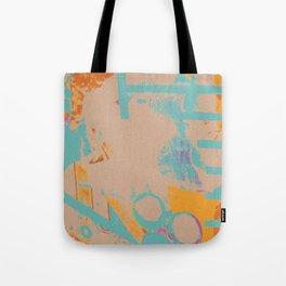 Railings Collage Tote Bag