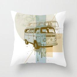 Camioneta Throw Pillow