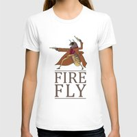 firefly T-shirts featuring Firefly by Evan Raynor
