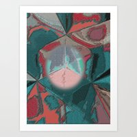 houston Art Prints featuring Houston by Jose Luis