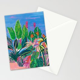 Tropical Patio Stationery Cards