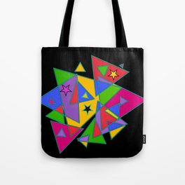 Triangles colourful Tote Bag