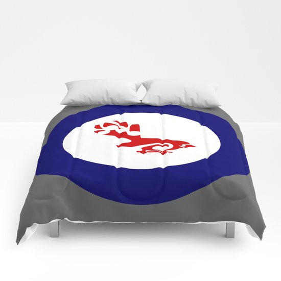 Fantail Air Force Roundel Comforters
