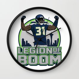"""The Victrs """"Legion of Boom"""" Wall Clock"""