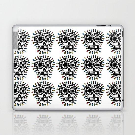 Sugar Skull - sharpie Laptop & iPad Skin