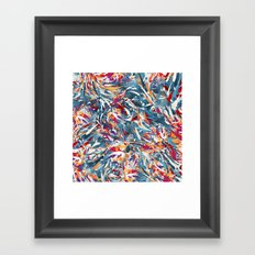 Excited Colours Framed Art Print