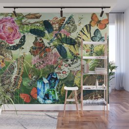 The Cabinet of Curiosities Wall Mural