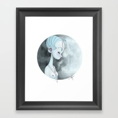 Moon Guardian Framed Art Print