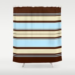 Retro #6 Shower Curtain