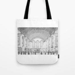 Grand Central Station, 1930's Tote Bag
