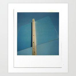 Blue Sky Sign Art Print