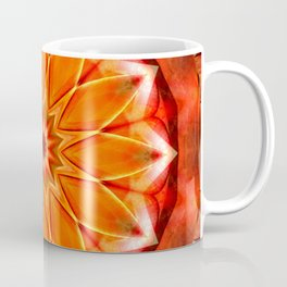 Mandala bitter orange Coffee Mug