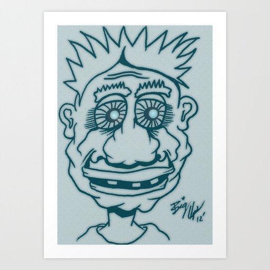 Bright Eyes Art Print