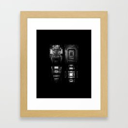 Indian Step Well Composition #2 Framed Art Print