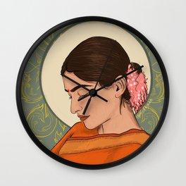 Sad Girl Wall Clock