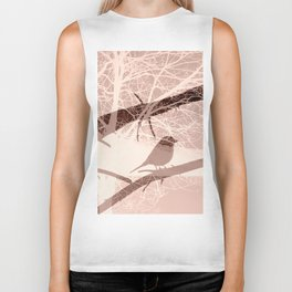 Bird tree Biker Tank