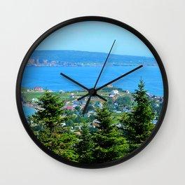 Bonaventure Island panoramic Wall Clock