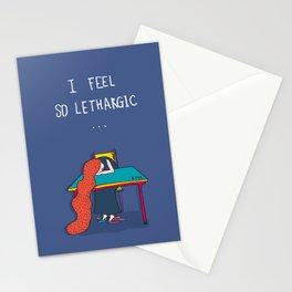 la·zi·ness Stationery Cards
