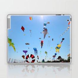 Kites over Lake Michigan Laptop & iPad Skin