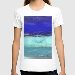 Midnight Waves Seascape T-shirt