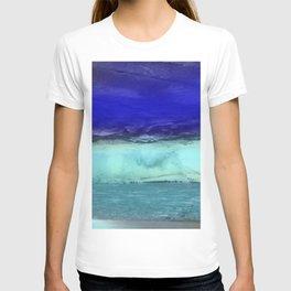 Midnight Waves Seascape T-shirt