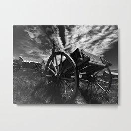 Bodie California wagon Metal Print
