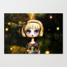 Goldilocks Grows up ~ Just right Canvas Print