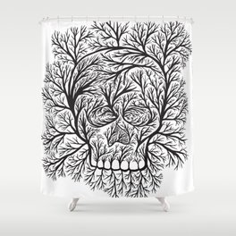 life of death Shower Curtain