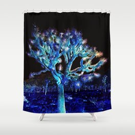 Joshua Tree VG Hues by CREYES Shower Curtain