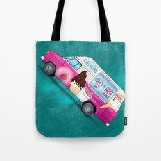 It's Ice Cream Time Tote Bag