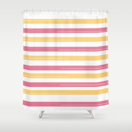 Apricots and grapefruits Shower Curtain