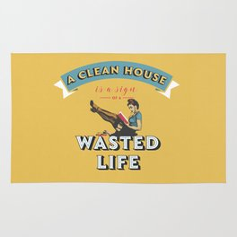Do not waste your life Rug