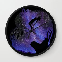 Starry Night Voyage Wall Clock
